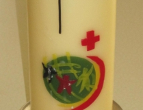 Gottesdienst-Kerze